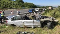 Düzcede feci kaza: 4 ölü