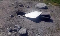 Üstü açık kanalizasyon çukurları ölüm saçıyor