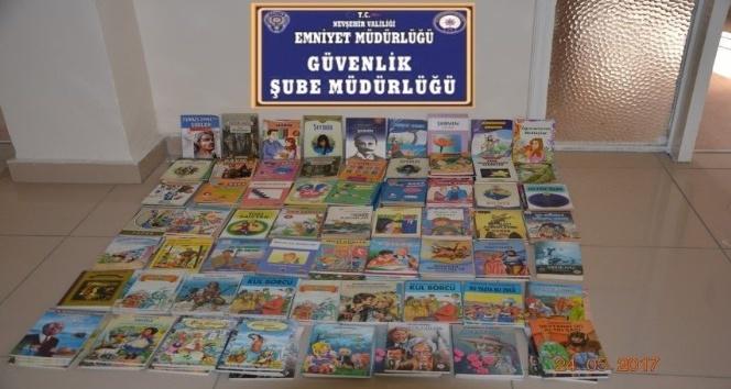 Nevşehirde 236 adet bandrolsüz kitap ele geçirildi