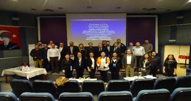 Düzce TTO, sanayicilerle üniversite temsilcilerini buluşturdu