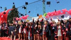 OMÜ İletişim Fakültesi ilk mezunlarını verdi