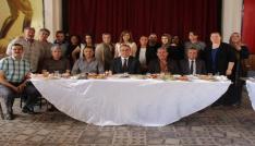 Öğrenciler Başkan Karaçobanı kahvaltıda ağırladı