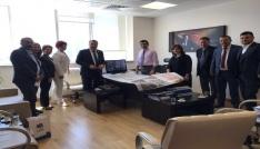 Başkan Çerçi Ankarada temaslarda bulundu