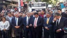 CHPli vekiller Güvenparkta volta atma eylemi yaptı