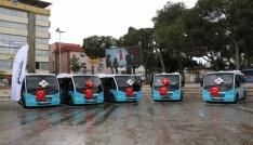 Alaşehirin toplu ulaşımına yeni araç takviyesi