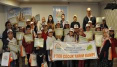 Gümüşhanede lider çocuk tarım kampı sona erdi