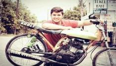 Ölüm oyuncağım yazdığı motosikletiyle kazada öldü