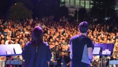 Kent Orkestrası, Bartın Üniversitesinde konser verdi