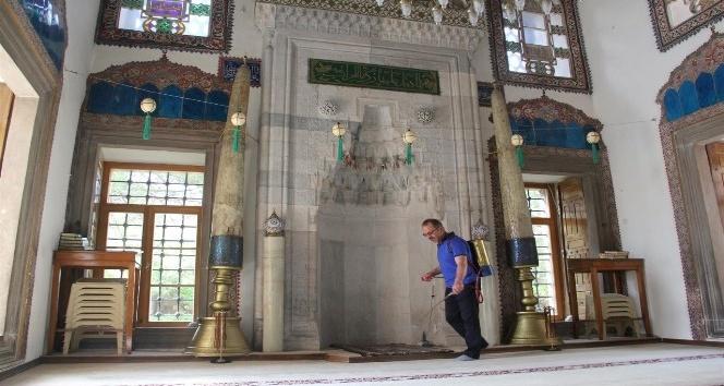 Nevşehirde camilere gül kokacak
