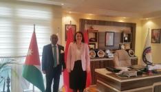 Sri Lanka Büyükelçisi Amzadan SANKONa ziyaret