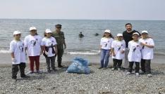 Hatayda Akdenizi Temiz Tutalım etkinliği