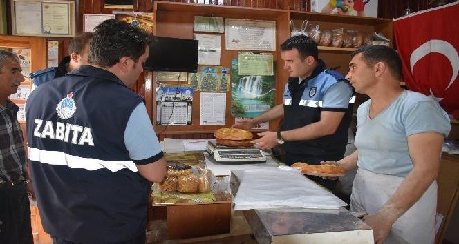 Dursunbeyde Ramazan Pidesi fiyatları belirlendi