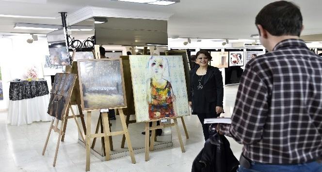 17. Şefik Bursalı Resim Yarışması sergisi Ankarada açıldı