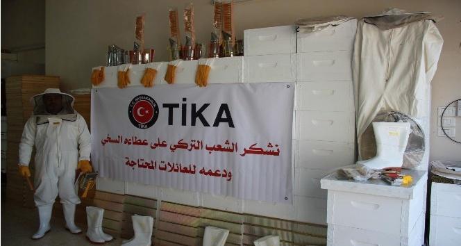 TİKAdan Filistinde ailelere arıcılık desteği
