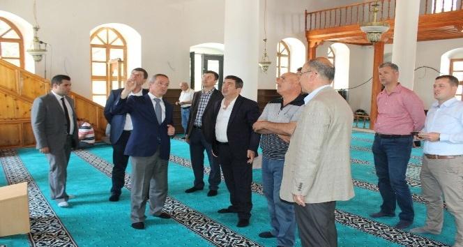 Gömeç Çarşı Camisi ibadete açıldı