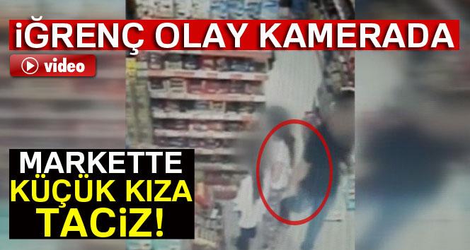 İzmir'de markette çocuk istismarı