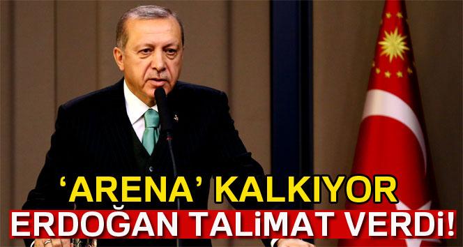 Cumhurbaşkanı Erdoğan: 'Arena isimlerini stadlardan kaldıracağız'