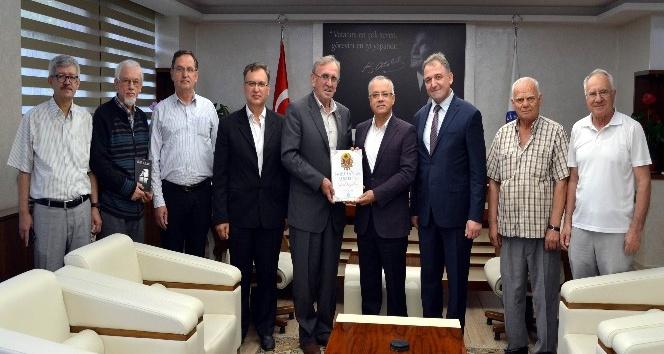 Başkan Kayda, Balkan göçmenlerini ağırladı