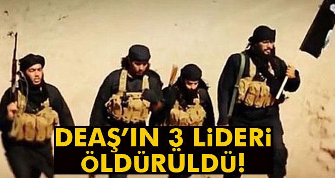 Pentagon: 'DEAŞ'ın 3 lideri öldürüldü'