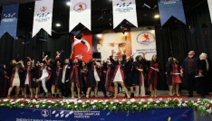 OMÜ GSF ilk mezunlarını verdi