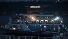 Çanakkale Boğazı Ramazana ışıl ışıl girdi