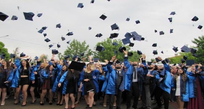 Hisarcık MYOda mezuniyet heyecanı