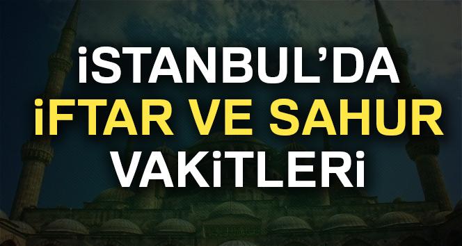 İstanbulda iftar saat kaçta? İstanbul sahur ve iftar saatleri! (İstanbul 2017 Ramazan İmsakiyesi)