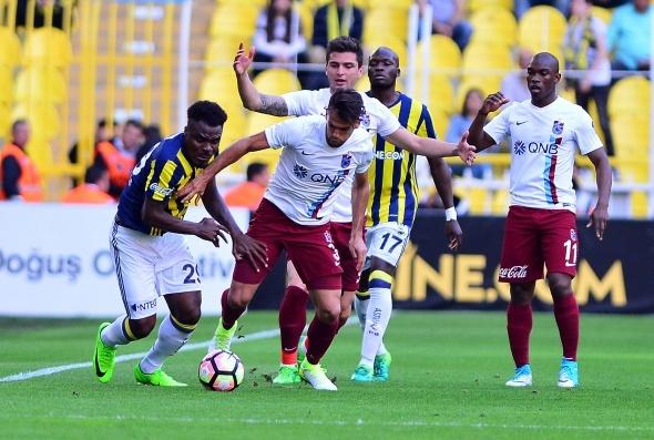 Fenerbahçe Trabzonspor maçı özel kareler