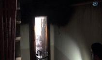Öğrenci evinde yangın!