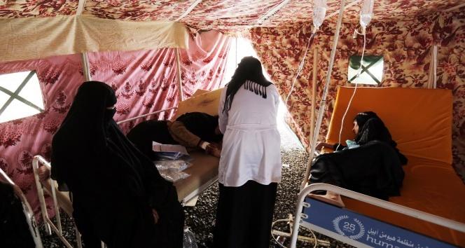 Yemende kolera salgını