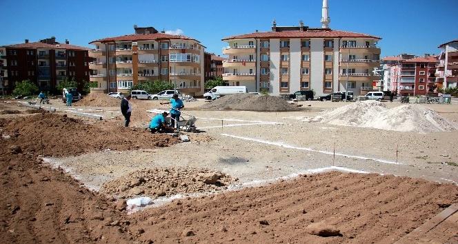 Belediye yeni park çalışmalarına başladı