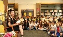 Şevval Sam çocuklara Orhan Kemal öyküleri okudu