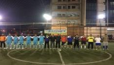 Pervaride halı saha futbol turnuvası yapıldı