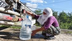 Çaytepe köyünde su sorunu