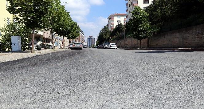 Çankırı-Kastamonu yoluna sıfır asfalt