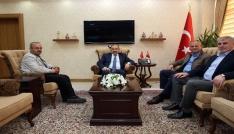 Başkan Mehmet Keleş, Vali İsmail Ustaoğlunu ziyaret etti