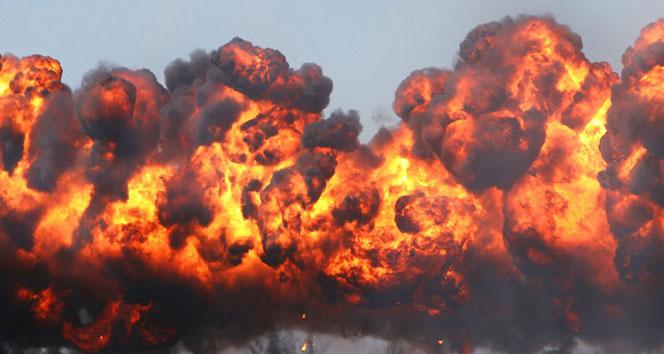 Halepte İran Askeri Üssünde şiddetli patlama