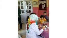 Bingölde öğrenciler işitme testinden geçirildi