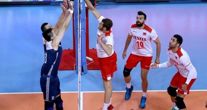 2017 FIVB World League - Türkiye: 3 - Çin: 2