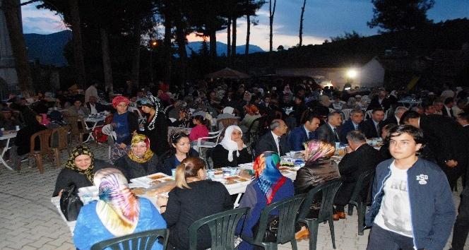 15 Temmuz şehidinin ailesinden iftar yemeği