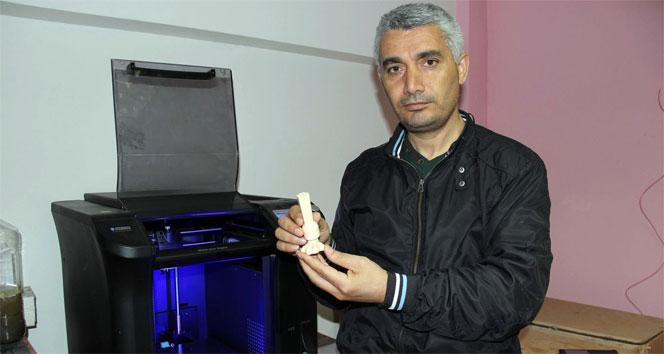 3D yazıcı ile hayvanlar için protez bacak üretti