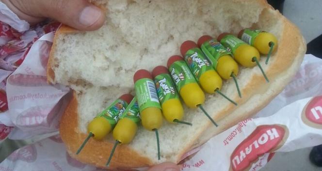 Play-off finali öncesi ekmek arası patlayıcı