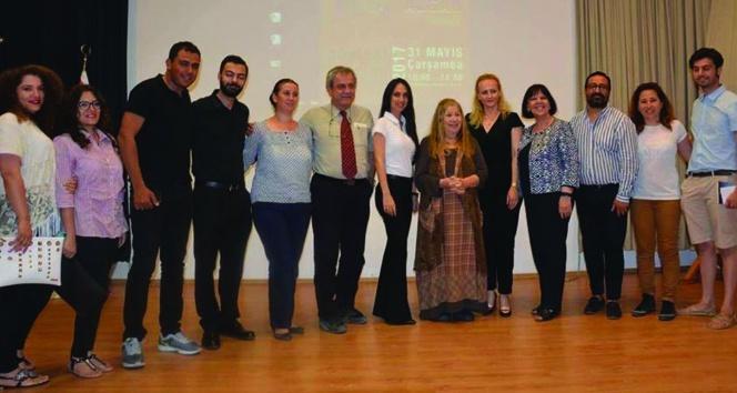 Yakın Doğu Üniversitesi Ayla Algan'ı ağırladı.