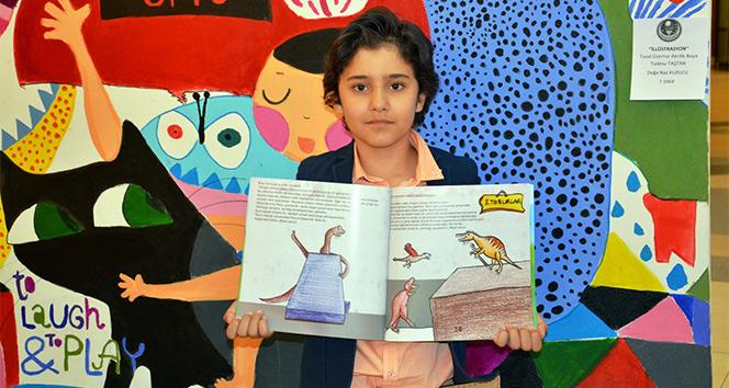 9 yaşındaki yazar ikinci kitabını çıkardı