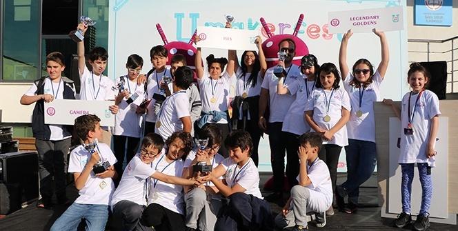Öğrenciler, U-Maker Fest'te geleceğin projelerini yarıştırdı
