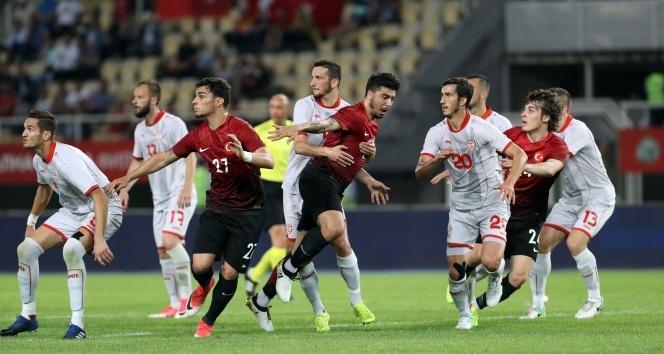 Makedonya: 0 - Türkiye: 0
