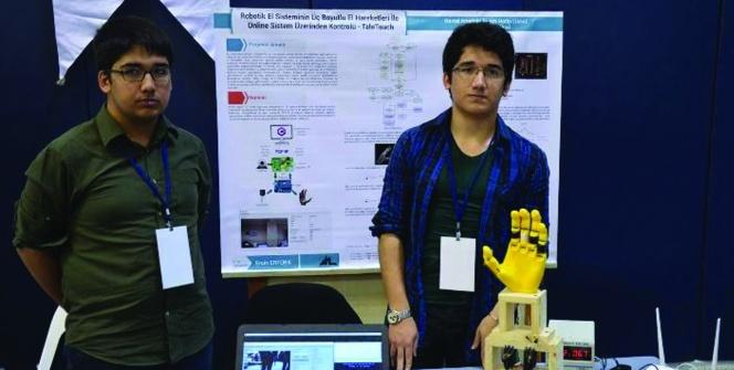 Öğrencinin keşfi biyonik el, bomba imhasında kullanılacak