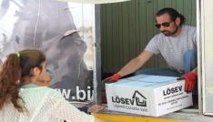 LÖSEV İyilik tırı Kırşehirde
