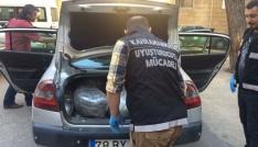 Kahramanmaraşta uyuşturucu operasyonu: 2 gözaltı