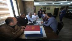 Mehmet Sekmenden Başkan Memişe ziyaret